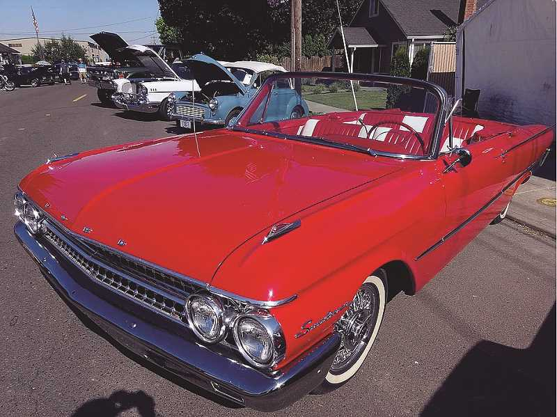 COURTESY PHOTO - One of the main attractions to the Hazelnut Festival is the car show.