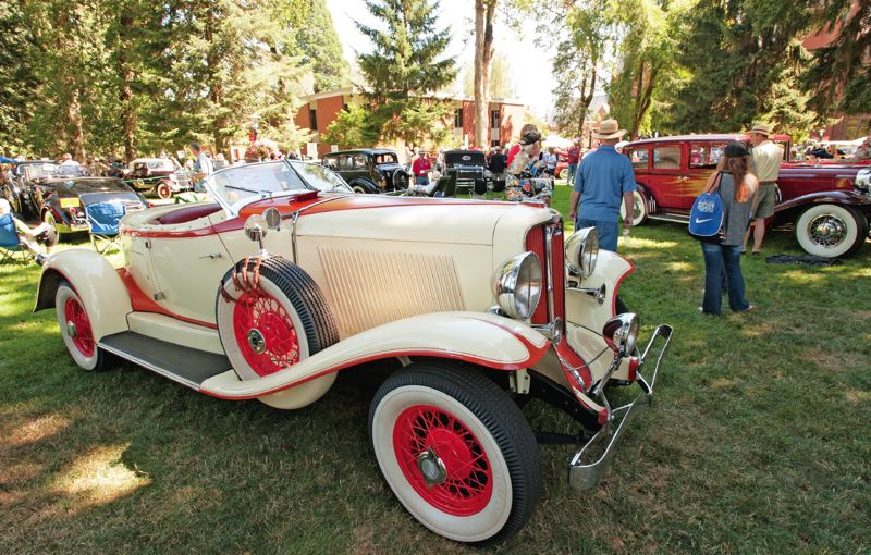 NEWS-TIMES FILE PHOTO - Jalopies and so much more — including Lincolns, Woodies and classic Minis — will take center stage when the Forest Grove Concours d 'Elegance returns for its 45th year on Sunday, July 16, on the campus of Pacific University in Forest Grove.