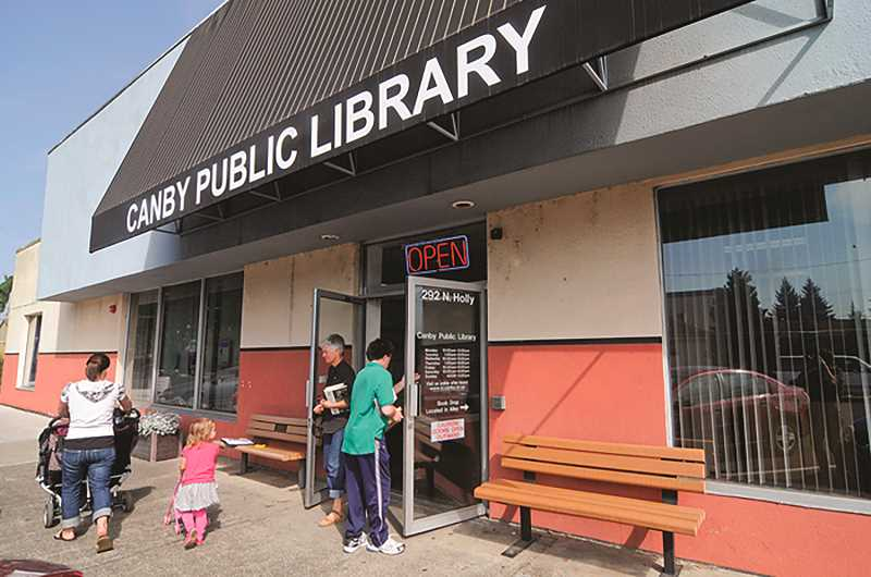 JOHN BAKER - The 10,961-square-foot former Canby Public Library building is large and flexible, and could accommodate many different businesses or uses, city officicals say.