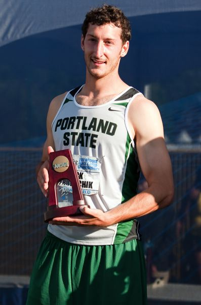 CONTRIBUTED PHOTO - Estacada High graduate Nick Trubachik was a Division I All-American in the decathlon during his time at Portland State.