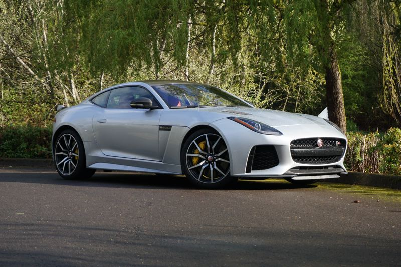 PORTLAND TRIBUNE: JEFF ZURSCHMEIDE - The SVR version of the 2017 Jaguar F-Type increases performance with a more powerful engine, standard all-wheel-drive, ceramic brakes and  more.
