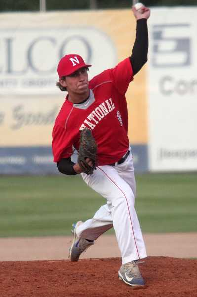 PHIL HAWKINS - Herberger gave up just one hit and one unearned run in two innings at the Futures Game at Volcanoes Stadium.