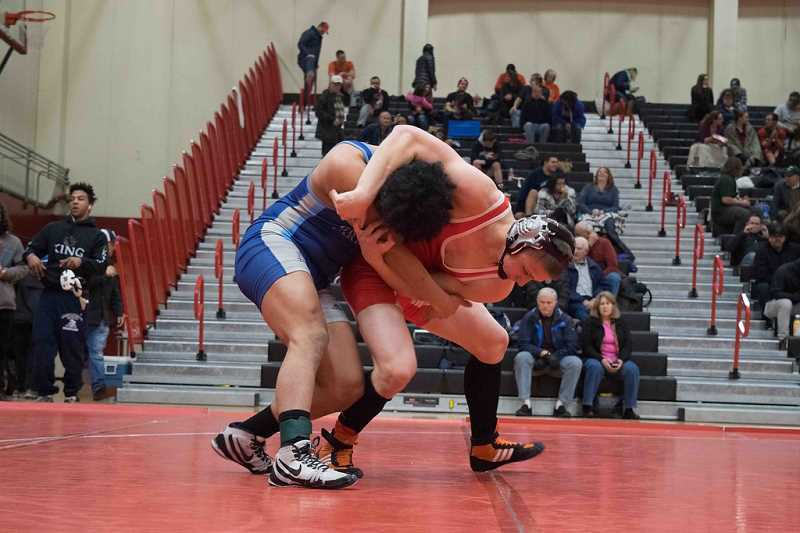 COURTESY PHOTO - Pacific's wrestling program suffered a down year last season, but will be looking to rebound going forward in 2017-18.