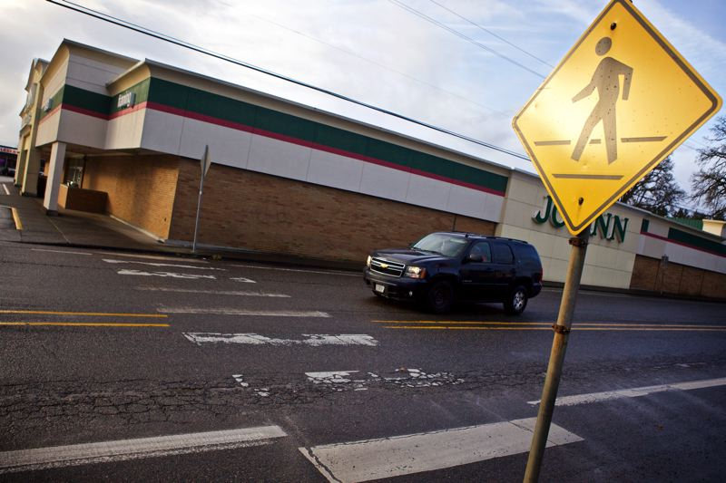 FILE - The Oregon Department of Transportation plans to replace the crosswalk on Hall Boulevard where Holly Lour was critically injured in a December 2014 crash.