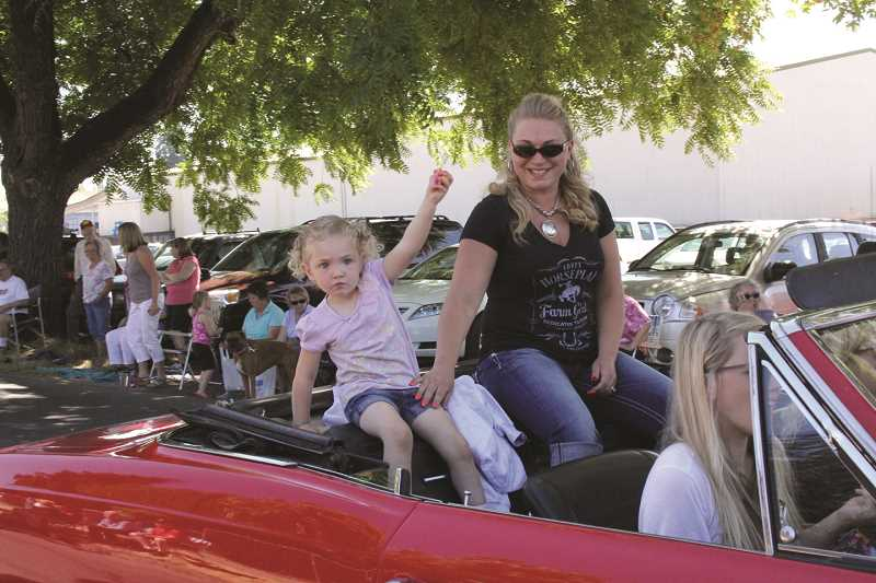 INDEPENDENT FILE PHOTO - All ages are welcome to participate in the Hop Festival parade.