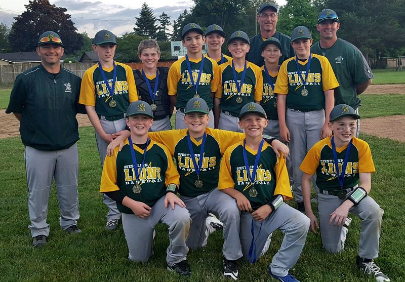 SUBMITTED PHOTO - The West Linn 12U all-stars needed just one day to win the Newberg All-Star Bash in mid-June, winning three times and tying once to claim the tournament championship.