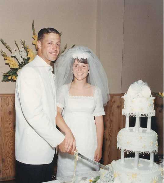 SUBMITTED PHOTO - Don and Candy Gomes were married in 1967.