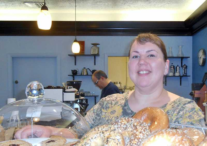 REVIEW FILE PHOTO: GARY M. STEIN - Julia Fowler, who has owned Blue Moon Coffee since 2011, says she wanted to make sure the business could stay in Lake Oswego.
