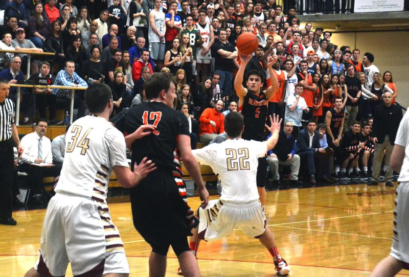 TIMES PHOTO: MATT SINGLEDECKER - Crawford was a second-team all-Metro League shooting guard for the Beavers and helped Beaverton reach the Class 6A state tournament.