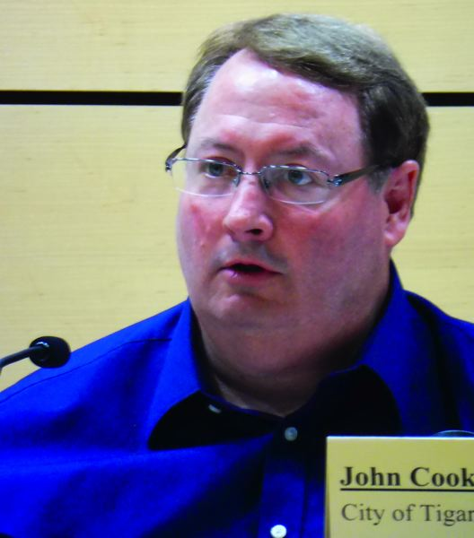 TIMES PHOTO: DANA HAYNES - Tigard Mayor John Cook