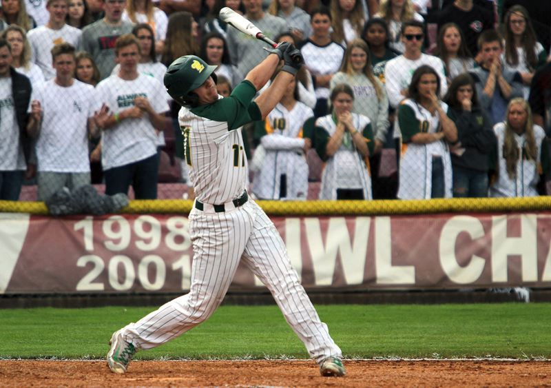 TIDINGS FILE PHOTO - West Linn senior shortstop Tim Tawa was named to the Class 6A all-state first team after previously being named Three Rivers League co-Player of the Year.
