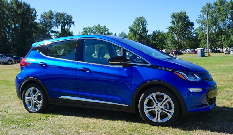 PORTLAND TRIBUNE: JEFF ZURSCHMEIDE - The 2017 Bolt EV is an affordable compact hatchback that can go 238 miles on a full charge — enough to be a realistic only car for most people. And it looks pretty good, too.