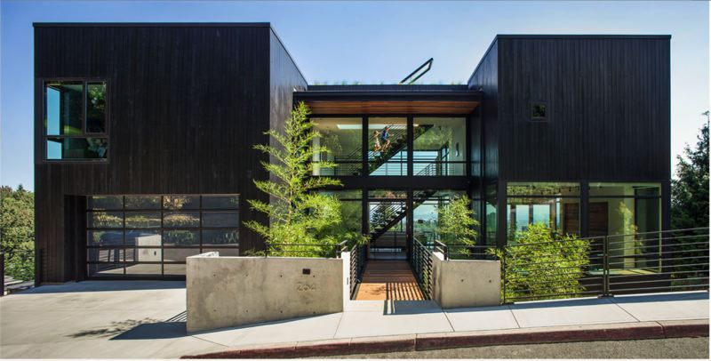 SOURCE: SCOTT EDWARDS ARCHITECTURE - Music Box Residence, Northwest Skyline Boulevard.