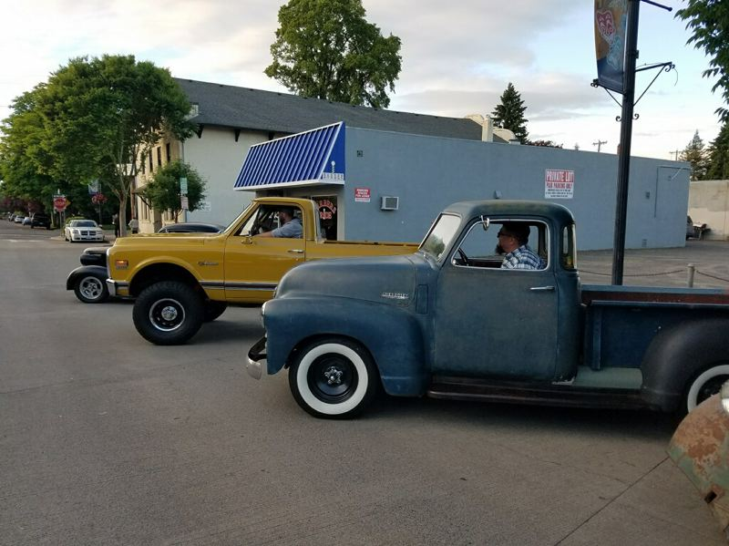 COURTESY PHOTO - A cruise-in featuring trucks from the 1960s and 1970s is set for Sunday, July 16, outside JT's Barber Shop in Hillsboro.
