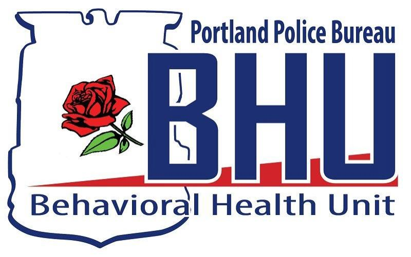 COURTESY PPB - Members of the Portland Police Bureau's Behavioral Health Unit responded to Sunday's incident.