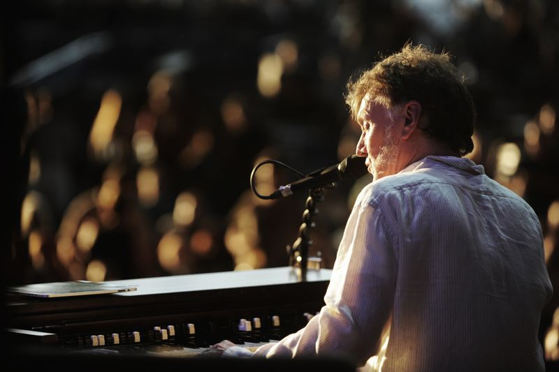 COURTESY: MARYHILL WINERY - Steve Winwood plays at the Maryhill Winery Amphitheater on Saturday, Sept. 9. Guests at the summer concert series get to sip wine while taking in the views on the Washington side of the Columbia River Gorge.