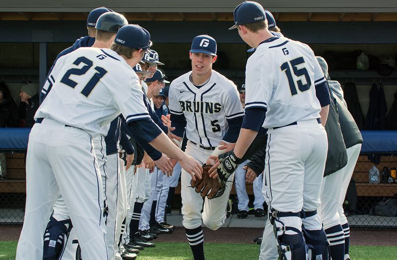 COURTESY GEORGE FOX ATHLETICS - Lake Oswego High School graduate Matt Voelzke had a huge freshman season at George Fox, winning first-team All-Northwest Conference and D3Baseball.com West Region Rookie of the Year honors.