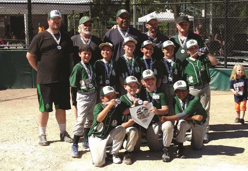 NORTH MARION YOUTH ATHLETICS - North Marion's Midget National team placed second in its county tournament after entering the bracket as the lowest-seeded team.