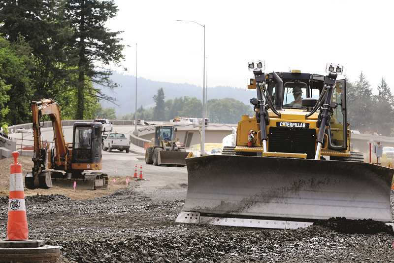 GRAPHIC FILE PHOTO - Work on the Wynooski Street overpass has been completed and the thoroughfare opened last weekend.