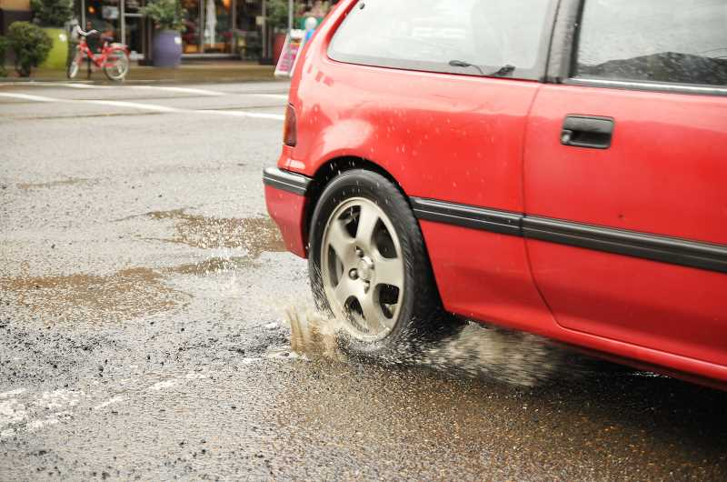 GRAPHIC FILE PHOTO - The city of Newberg is already moving to utilize the brand new fee it's collecting from residents and businesses to preserve and repair the road infrastructure.