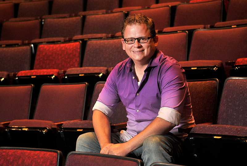 TIDINGS PHOTO: VERN UYETAKE - Travis Nodurft has played many roles at the Clackamas Repertory Theatre over the years, from director to writer, producer, actor and photographer.