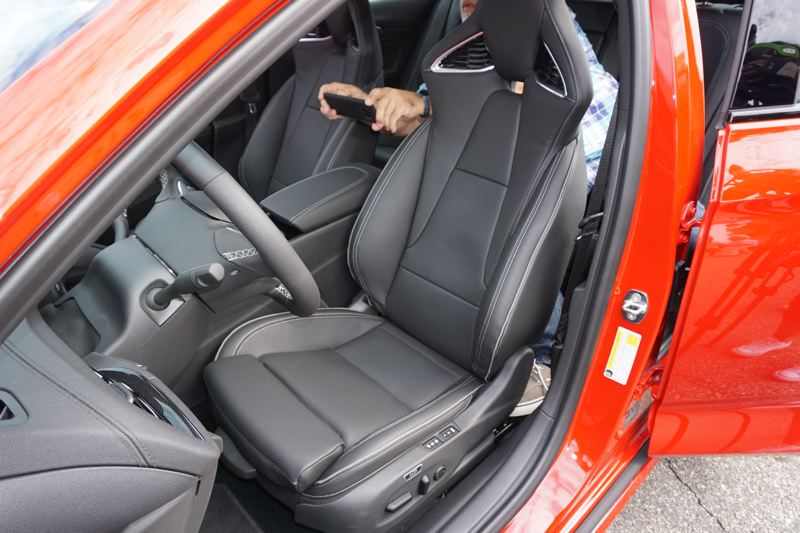 PORTLAND TRIBUNE: JEFF ZURSCHMEIDE - The sport bucket seats are supportive, and GM's signature OnStar safety and convenience system is standard with a 5 year basic service plan included.