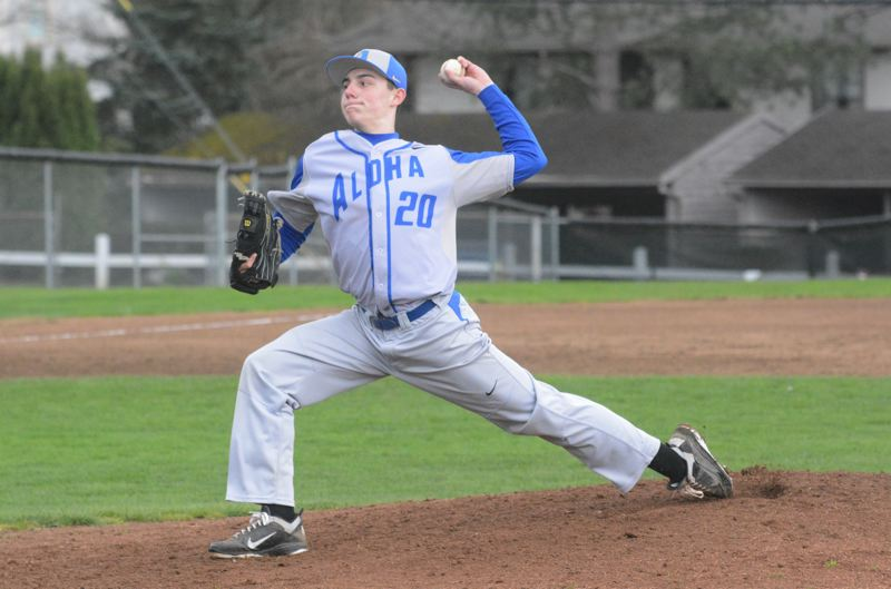 TIMES FILE PHOTO - Oregon State left-handed pitcher Brandon Eisert was a first-team all-state selection as a senior suiting up for Aloha.