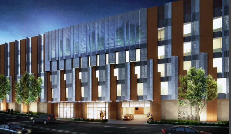COURTESY: CORKY MILLER - Legacy Emanuel Medical Centers rendering of the hospital expansion.