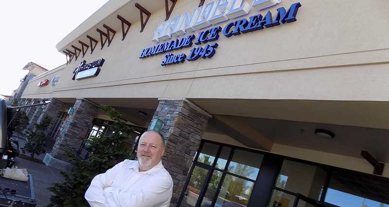 GAZETTE PHOTO: RAY PITZ - Handel's Homemade Ice Cream will host a grand opening for its Sherwood location Aug. 8-12.