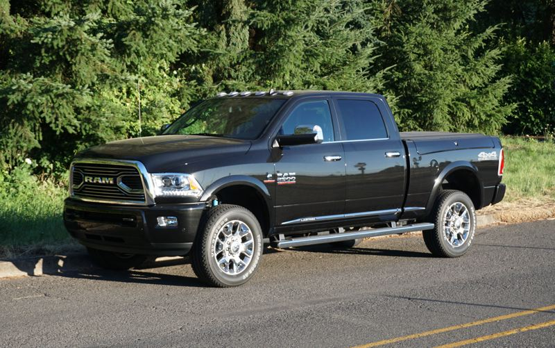 PORTLAND TRIBUNE: JEFF ZURSCHMEIDE - Most buyers of heavy-duty trucks are looking for a work truck. Their owners will spend many long days in them, so the 2017 Ram 2500 has to be comfortable as well as durable and powerful, and it is.