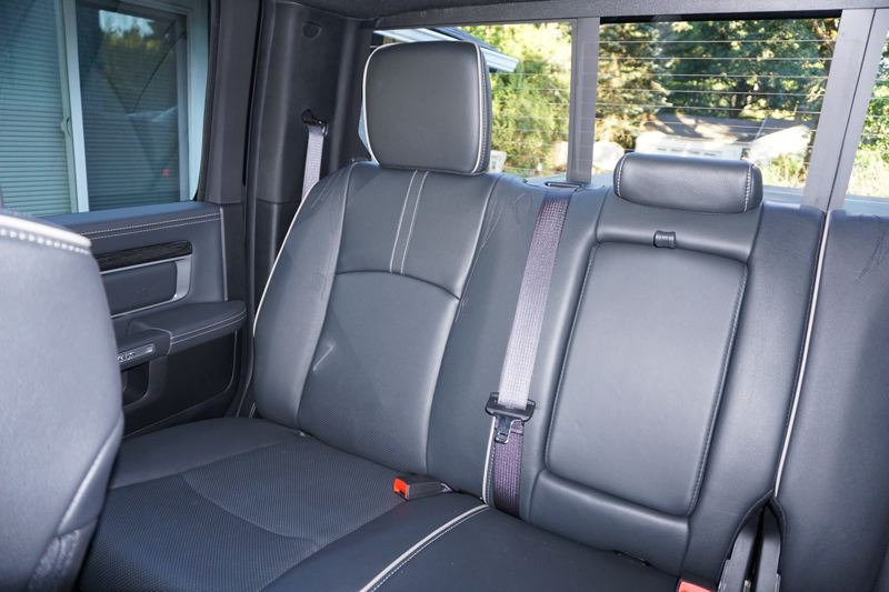 PORTLAND TRIBUNE: JEFF ZURSCHMEIDE - In the Limited trim, the front seats are equipped with both heat and ventilation, while the outside rear seats are heated so your whole crew can be comfortable in winter.