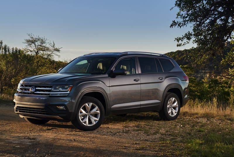 VOLKSWAGEN OF AMERICA - The 2018 Volkswagen Atlas is a large, family-oriented crossover with enough room for seven adults.