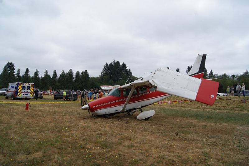KOIN 6 NEWS - Four people were injured in this Sunday plane crash in Sandy.