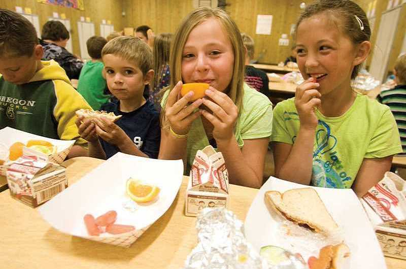 STOCK PHOTO - There will be four sites for those ages 18-under to visit for free meals -- Trost Elementary School, William Knight Elementary School, Baker Prairie Middle School and Wait Park.