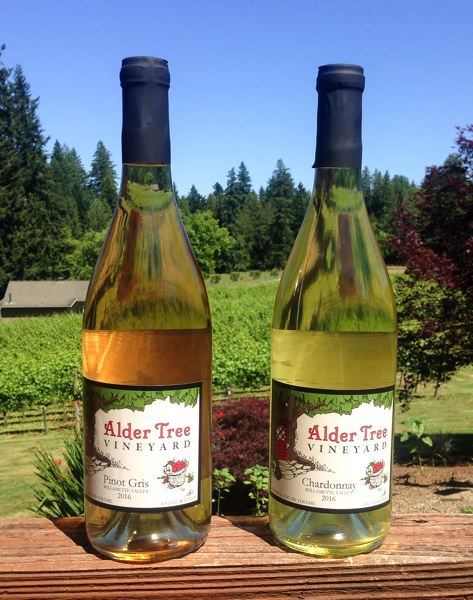 CONTRIBUTED  - Alder tree Vineyard has been 'one of Sandy's best kept secrets' since 2008.