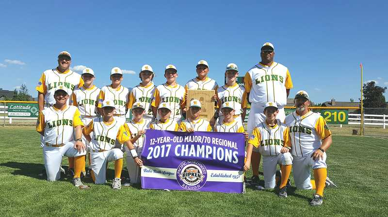SUBMITTED PHOTO - The West Linn 12U All Stars advanced to the Cal Ripken World Series for the first time in 10 years.