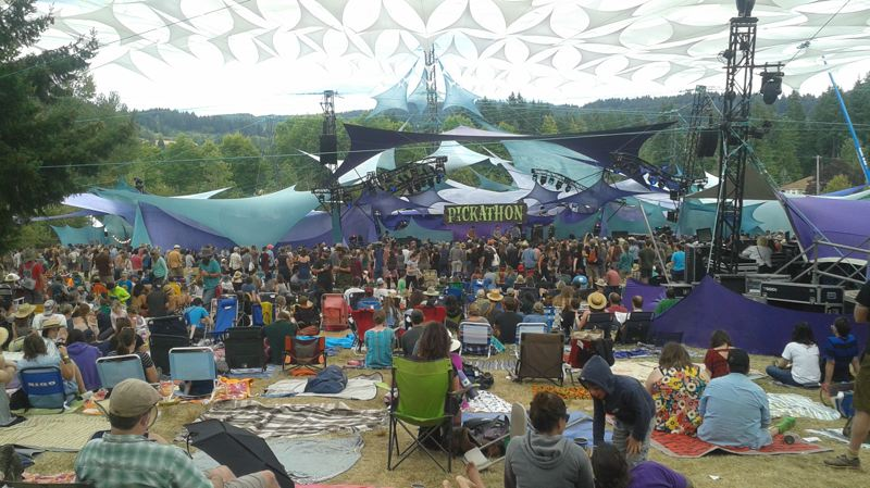 PAMPLIN MEDIA GROUP PHOTO: SHANNON O. WELLS - The Mountain View Stage at Pickathon will once again become the center of the musical universe the weekend of Aug. 3-6 at Pendarvis Farm in Happy Valley near Southeast Portland.