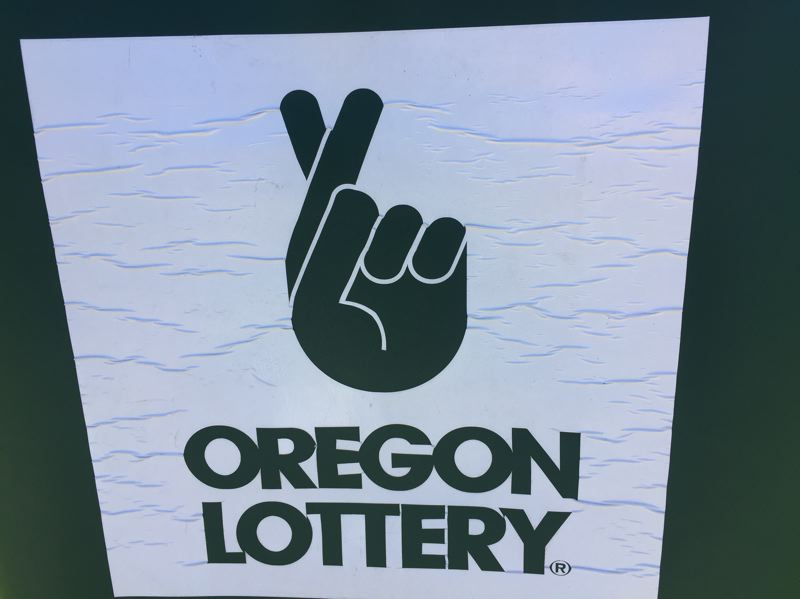PARIS ACHEN/CAPITAL BUREAU - Oregon Lottery parking sign