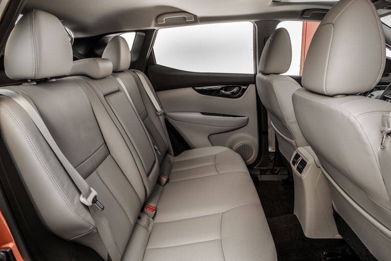 COURTESY NISSAN-USA - Back seat passengers will find a surprising amount of room in the 2017 Nissian Rogue Sport.