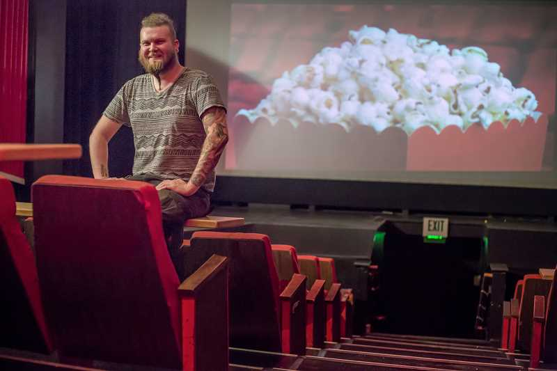 TIMES PHOTO: JONATHAN HOUSE - Casey Martin runs the day-to-day operations at Beaverton's Valley Cinema.