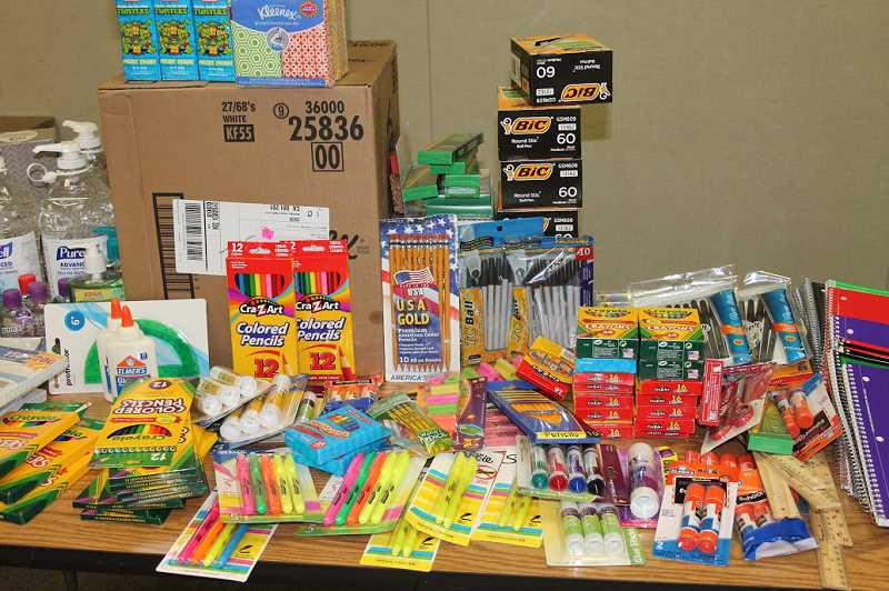 STOCK PHOTO - Molalla Elementary counselor Robin Bergin wrote letters to chamber members last year and received enough donations to provide supplies for this year as well.