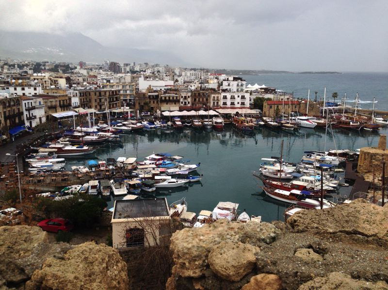 TIMES PHOTO: DANA HAYNES - Northern Cyprus's port of Kyrenia historically had a mixed population of Greek- and Turkish-speaking Cypriots. The partition of Cyprus in 1974 displaced thousands of ethnic Greek residents of the city, as it fell on the Turkish side of the island.