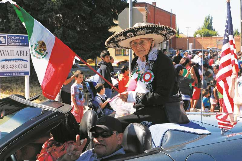INDEPENDENT FILE PHOTO - The Fiesta Mexicana parade, pictured in 2016, starts at 11 a.m. on Saturday at the Woodburn Aquatic Center (190 Oak St.).