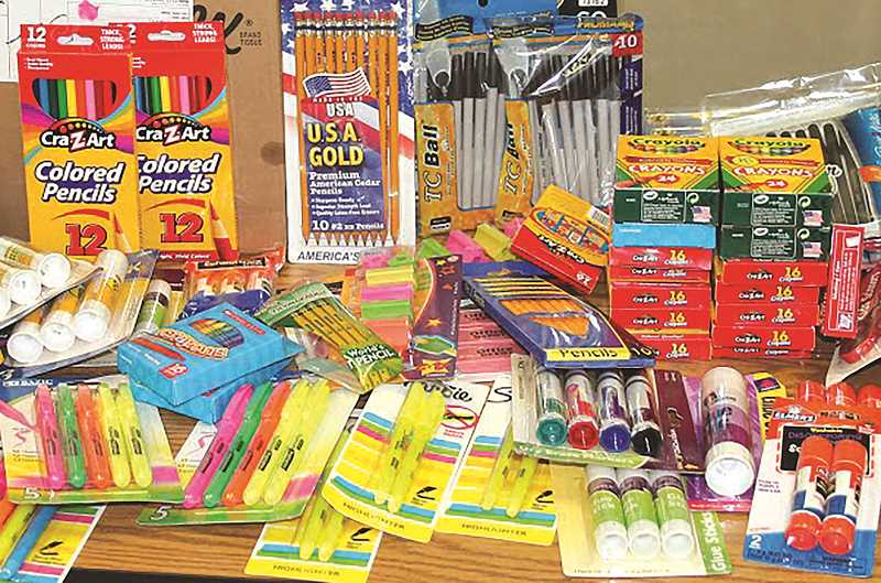 STOCK PHOTO - Canby elementary school students, and parents, are getting a helping hand with this year's school supply list from the Canby School District.