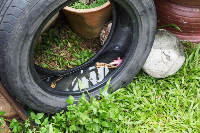 PHOTO COURTESY OF WASHINGTON COUNTY - Old tires can be recycled this Saturday.