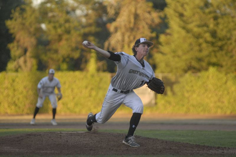 GRESHAM OUTLOOK: MATT RAWLINGS - GreyWolves pitcher Andrew Hansen recieved the no-decision in Gresham's 7-6 win over Bend