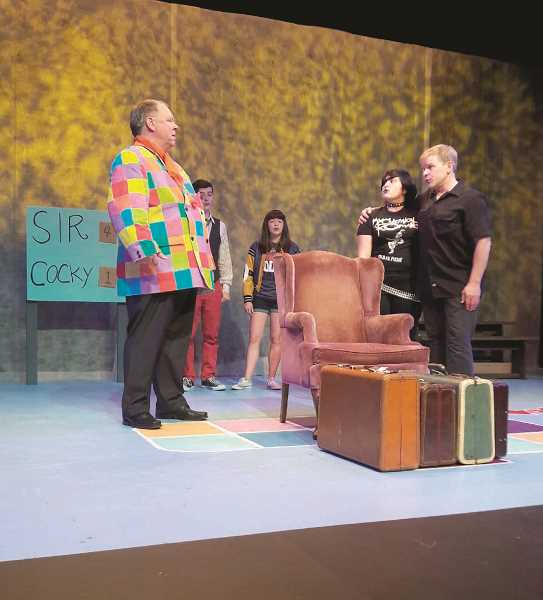 COURTESY PHOTO - 'The Roar of the Greasepaint, the Smell of the Crowd'  was a popular show at HART last season. In 2017-18 the theater company will keep folks laughing.