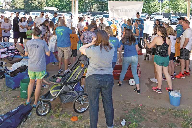 Prader-Willi Walk participation has grown from just three families to a dozen, with their supporters, drawing more than 240 people last weekend.
