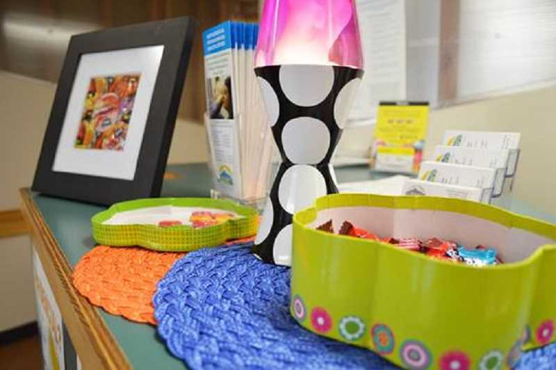 COURTESY WASHINGTON COUNTY - The new youth education room at Neighborhood Health Center in Hillsboro includes games, lava lamps, snacks and reading materials.