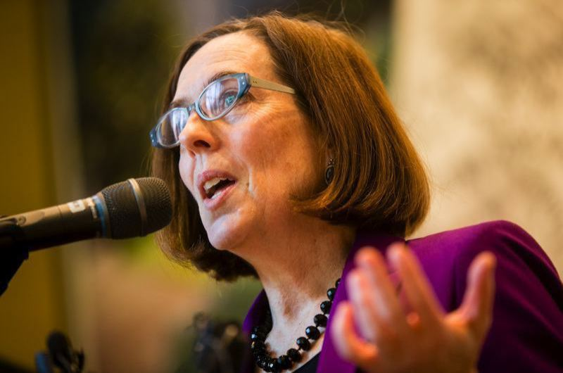PORTLAND TRIBUNE FILE PHOTO - Gov. Kate Brown